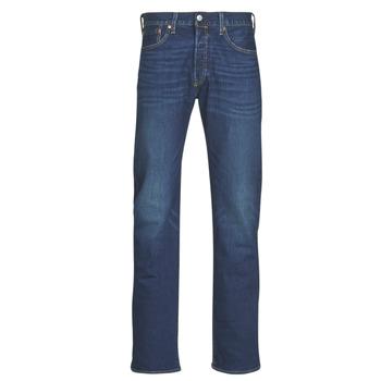 Textiel Heren Straight jeans Levi's 501 Levi's ORIGINAL FIT Blauw