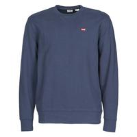 Textiel Heren Sweaters / Sweatshirts Levi's NEW ORIGINAL CREW Blauw