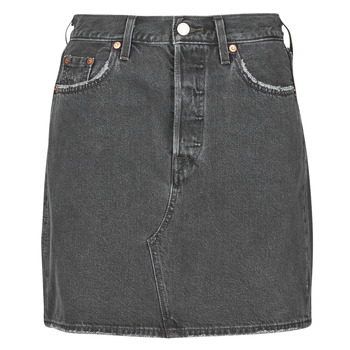 Textiel Dames Rokken Levi's HR DECON ICONIC BF SKIRT Zwart