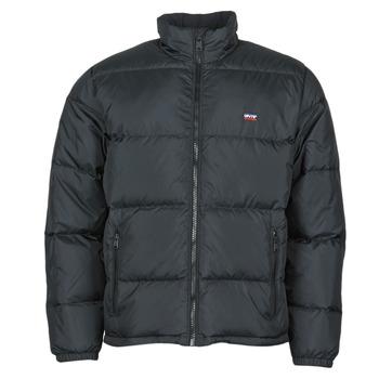 Textiel Heren Dons gevoerde jassen Levi's FILLMORE SHORT JACKET Jet / Zwart