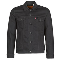 Textiel Heren Spijker jassen Levi's THE TRUCKER JACKET Zwart