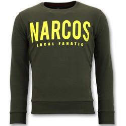Textiel Heren Sweaters / Sweatshirts Local Fanatic Narcos Groen
