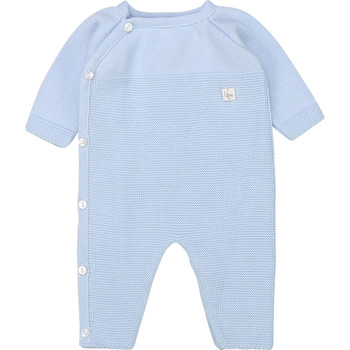 Textiel Jongens Jumpsuites / Tuinbroeken Carrément Beau Y94185 Blauw