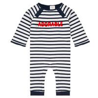 Textiel Jongens Jumpsuites / Tuinbroeken Carrément Beau Y94188 Multicolour