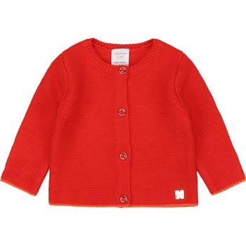 Textiel Meisjes Vesten / Cardigans Carrément Beau Y95225 Roze