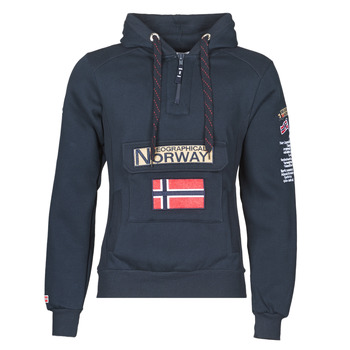 Textiel Heren Sweaters / Sweatshirts Geographical Norway GYMCLASS Marine