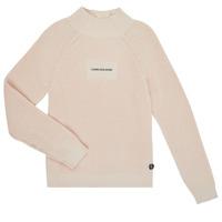 Textiel Meisjes Truien Calvin Klein Jeans IG0IG00680-PGB Grijs