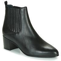 Schoenen Dames Enkellaarzen Jonak DEBINA Zwart
