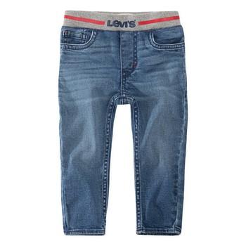 Textiel Jongens Skinny Jeans Levi's PULL-ON SKINNY JEAN Blauw