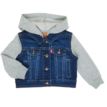 Textiel Jongens Spijker jassen Levi's INDIGO JACKET Blauw