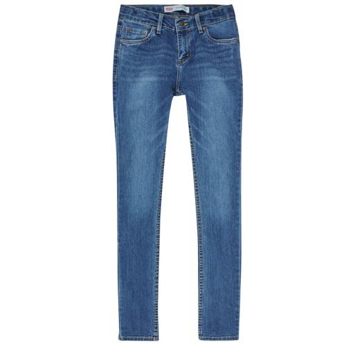Textiel Jongens Skinny Jeans Levi's SKINNY TAPER JEANS Blauw