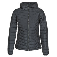 Textiel Dames Dons gevoerde jassen Columbia POWDER LITE HOODED JACKET Zwart
