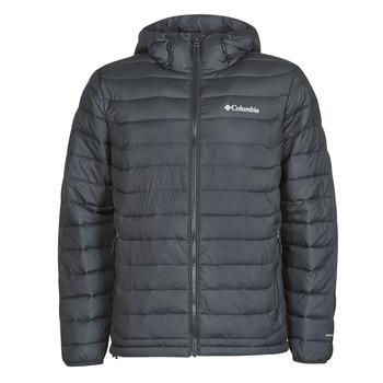 Textiel Heren Dons gevoerde jassen Columbia POWDER LITE HOODED JACKET Zwart