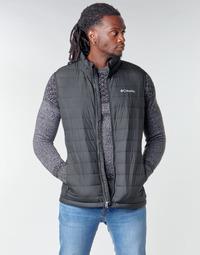 Textiel Heren Dons gevoerde jassen Columbia POWDER LITE VEST Zwart