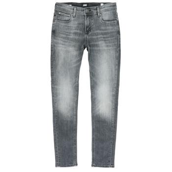 Textiel Jongens Skinny jeans Jack & Jones JJILIAM Zwart