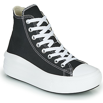 Schoenen Dames Hoge sneakers Converse Chuck Taylor All Star Move Canvas Color Hi Zwart