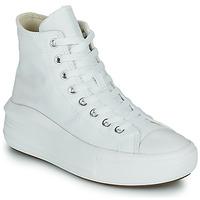 Schoenen Dames Hoge sneakers Converse Chuck Taylor All Star Move Canvas Color Hi Wit