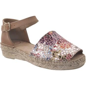 Schoenen Dames Espadrilles Toni Pons Elgin-pm Meerkleurig leer bruin
