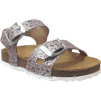 Schoenen Meisjes Sandalen / Open schoenen Plakton Lisa Roze grijs