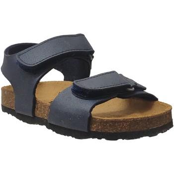 Schoenen Jongens Sandalen / Open schoenen Plakton Pool Marineblauw