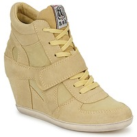 Schoenen Dames Hoge sneakers Ash BOWIE Geel / Pastel