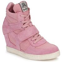 Schoenen Dames Hoge sneakers Ash COOL Roze
