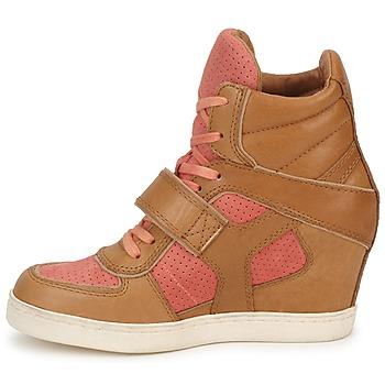 Bruin Dames Ash Hoge Verkoop Sneakers Koraal Schoenen Coca Hete WdxQorCBe