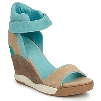 Schoenen Dames Sandalen / Open schoenen Ash HELOISE Bruin / Blauw