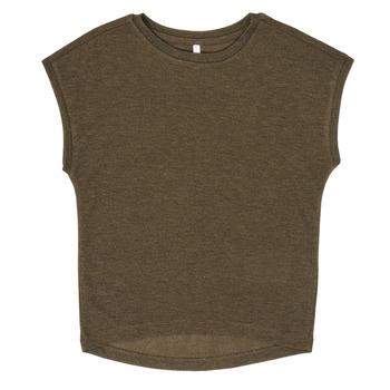 Textiel Meisjes T-shirts korte mouwen Only KONSILVERY Zwart