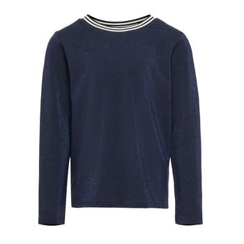 Textiel Meisjes T-shirts met lange mouwen Only KONATHEA Marine