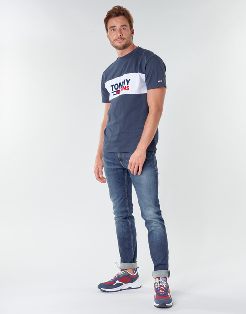 Tommy Jeans TJM PIECED BAND LOGO TEE
