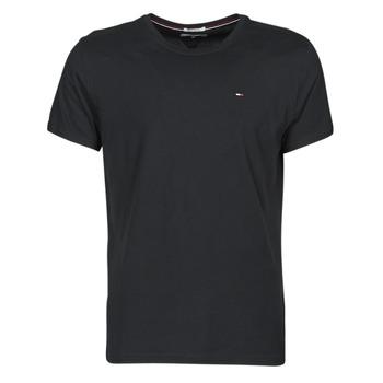 Textiel Heren T-shirts korte mouwen Tommy Jeans TJM ORIGINAL JERSEY TEE Zwart