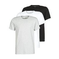 Textiel Heren T-shirts korte mouwen Calvin Klein Jeans CREW NECK 3PACK Grijs / Zwart / Wit