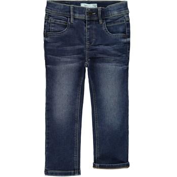 Textiel Jongens Skinny jeans Name it NMFRANDI Blauw / Medium