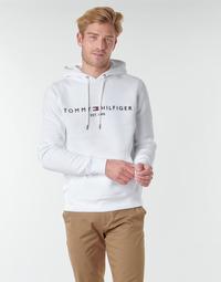 Textiel Heren Sweaters / Sweatshirts Tommy Hilfiger TOMMY LOGO HOODY Wit