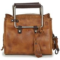 Tassen Dames Handtassen kort hengsel Airstep / A.S.98 KIRO CALVADOS Bruin