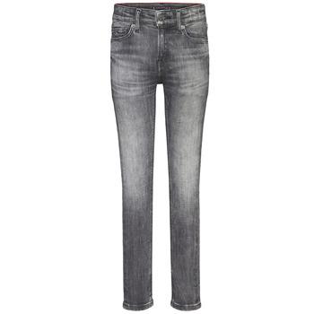 Textiel Jongens Skinny Jeans Tommy Hilfiger SIMON SUPER SKINNY Grijs