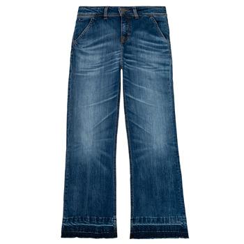 Textiel Meisjes Bootcut jeans Tommy Hilfiger KG0KG05199-1BJ Blauw