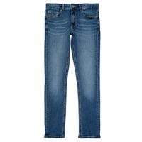 Textiel Jongens Skinny jeans Tommy Hilfiger SCANTON SLIM Blauw