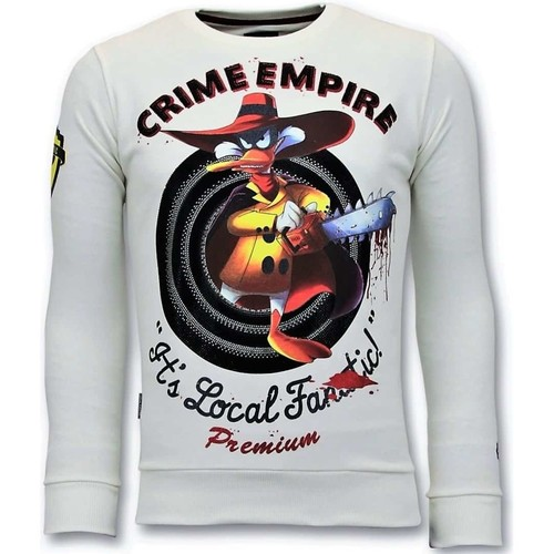 Textiel Heren Sweaters / Sweatshirts Local Fanatic Luxe Crime Empire Wit