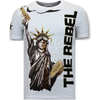 Textiel Heren T-shirts korte mouwen Local Fanatic The Rebel Wit