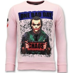 Textiel Heren Sweaters / Sweatshirts Local Fanatic The Joker Man Roze