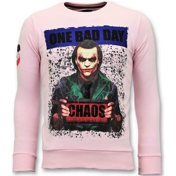 Textiel Heren Sweaters / Sweatshirts Local Fanatic Sweater - The Joker Man - Roze