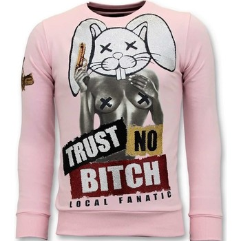 Textiel Heren Sweaters / Sweatshirts Local Fanatic Trust No Bitch Roze