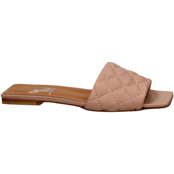 Schoenen Dames Leren slippers Mivida CHIFFON nude