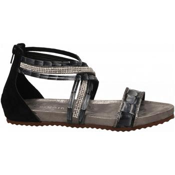 Schoenen Dames Sandalen / Open schoenen Café Noir SANDALO LISTINI INCROCIATI STRASS 226-multinero