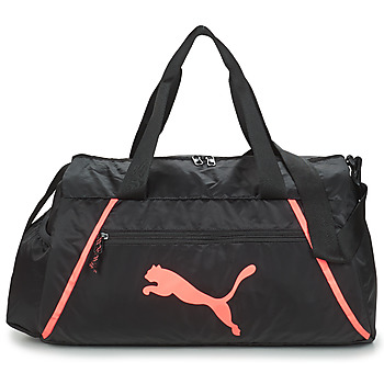 Tassen Dames Sporttas Puma AT ESS BARREL BAG PEARL Zwart / Roze
