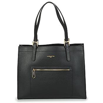 Tassen Dames Handtassen lang hengsel LANCASTER FOULONNE DOUBLE Zwart