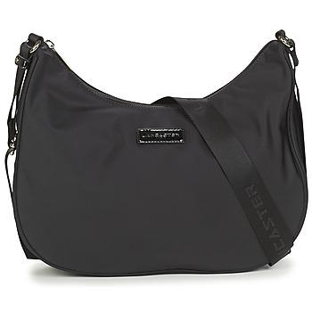 Tassen Dames Schoudertassen met riem LANCASTER BASIC Zwart