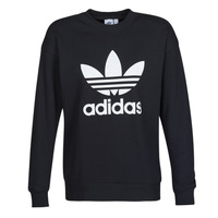 Textiel Dames Sweaters / Sweatshirts adidas Originals TRF CREW SWEAT Zwart
